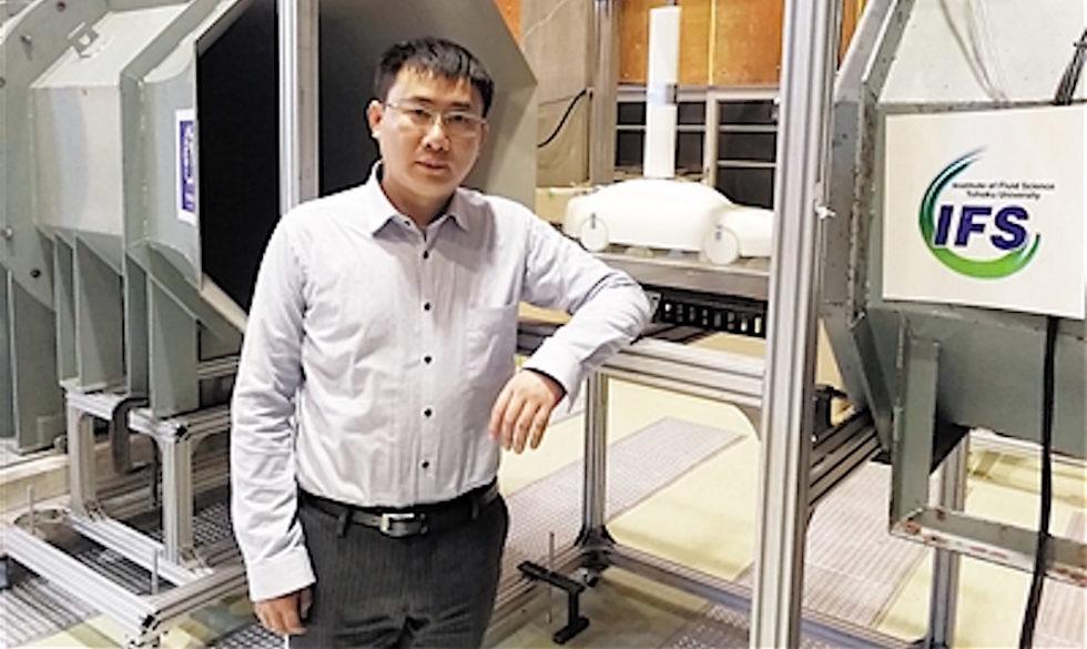 Prof. Lai Chenguang von der Chongqing University of Technology in China hat das aerodynamische Konzept für den High-Speed-Zug inklusive Spoilern entwickelt.