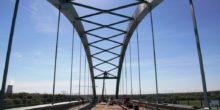Überführungsbauwerk der Saale-Elster-Talbrücke