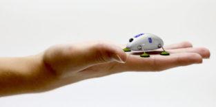 Miniroboter nach Vorbild der Kakerlake inspiziert Triebwerke