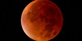Längste Mondfinsternis des Jahrhunderts: Blutmond in Spielfilmlänge
