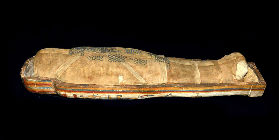Die Mumie gibt es nicht nur als Hologramm, sondern auch im Original zu sehen.