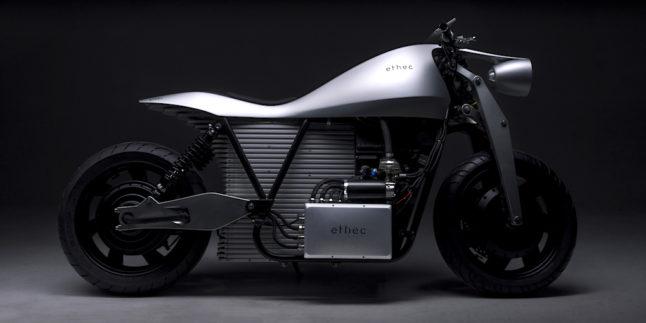Das Elektromotorrad Ethec wurde an der ETH Zürich entwickelt.