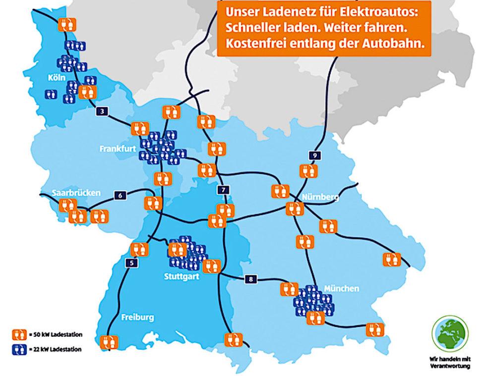 aldi sd will ein dichtes netz von ladestationen entlang der autobahnen aufbauen - Aldi Sud Online Bewerbung