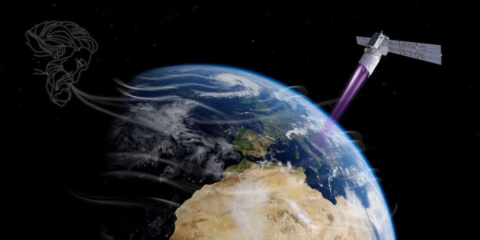 Benannt ist die neue ESA-Mission nach dem griechischen Gott Aeolus - dem König der Winde.