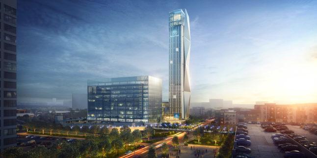 Thyssenkrupp baut Testturm für Highspeed-Aufzüge in Atlanta