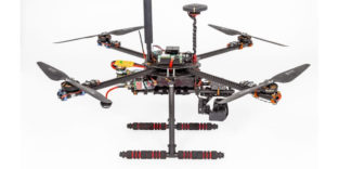 "Testdrohne des Projekts ""Call a Drone"""