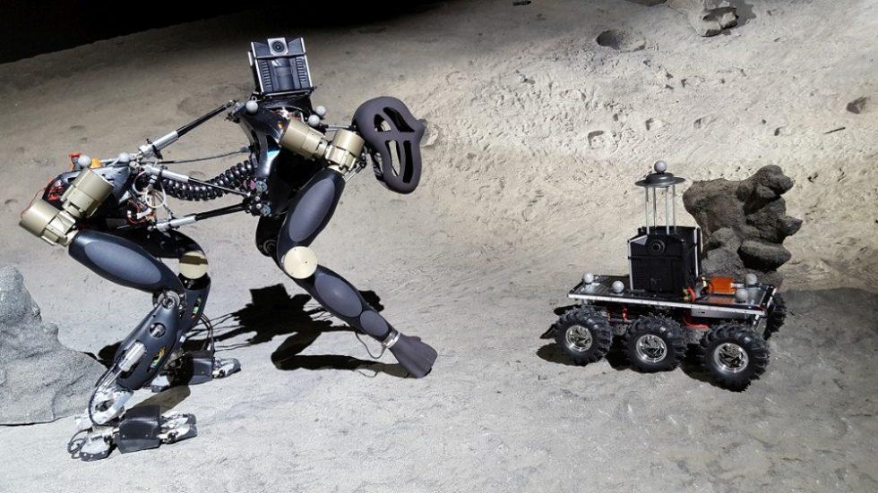Roboterschwarm aus Deutschland erkundet tiefsten Canyon auf dem Mars