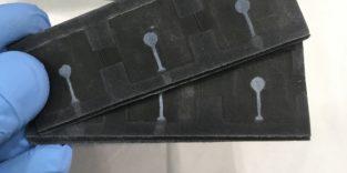 Batterie aus Papier und Bakterien
