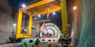 Halbzeit: Unter dem Brenner entsteht der längste Eisenbahntunnel der Welt
