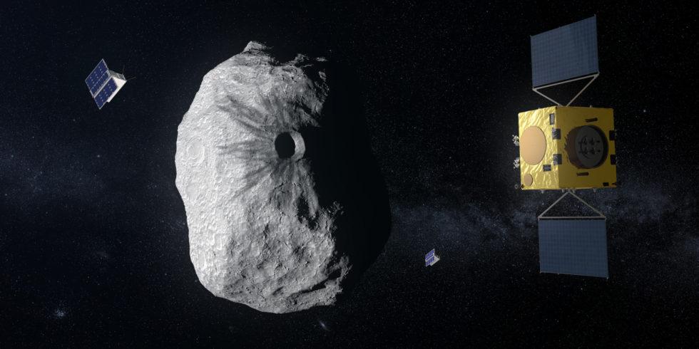 Asteroidenabwehr in den Tiefen des Alls