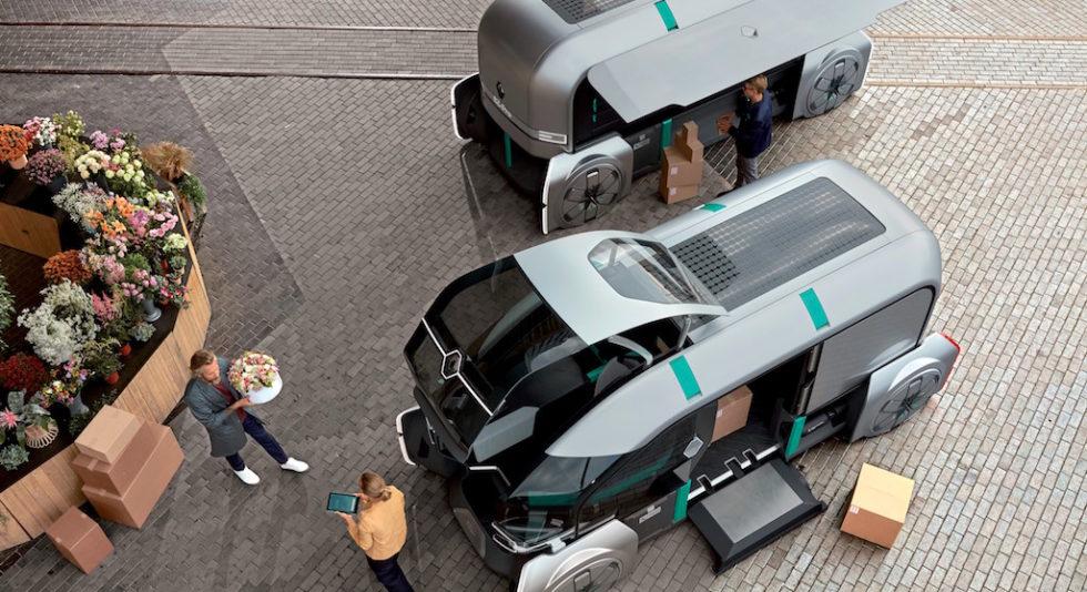Volvo und Renault zeigen die Lieferwagen der Zukunft