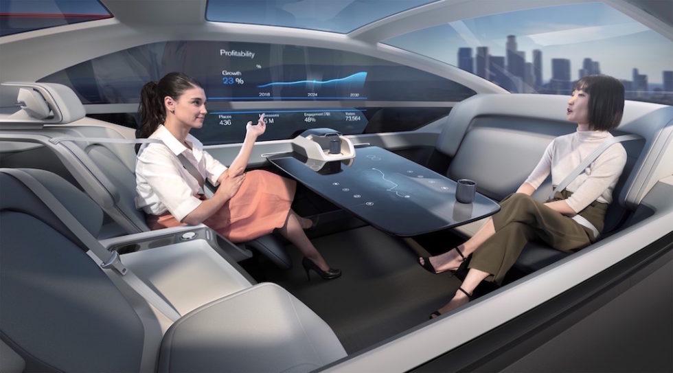 Volvo konzipiert fahrerloses Auto als Schlafwagen