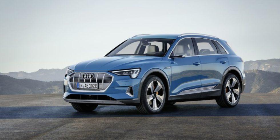 Der E-tron von Audi.