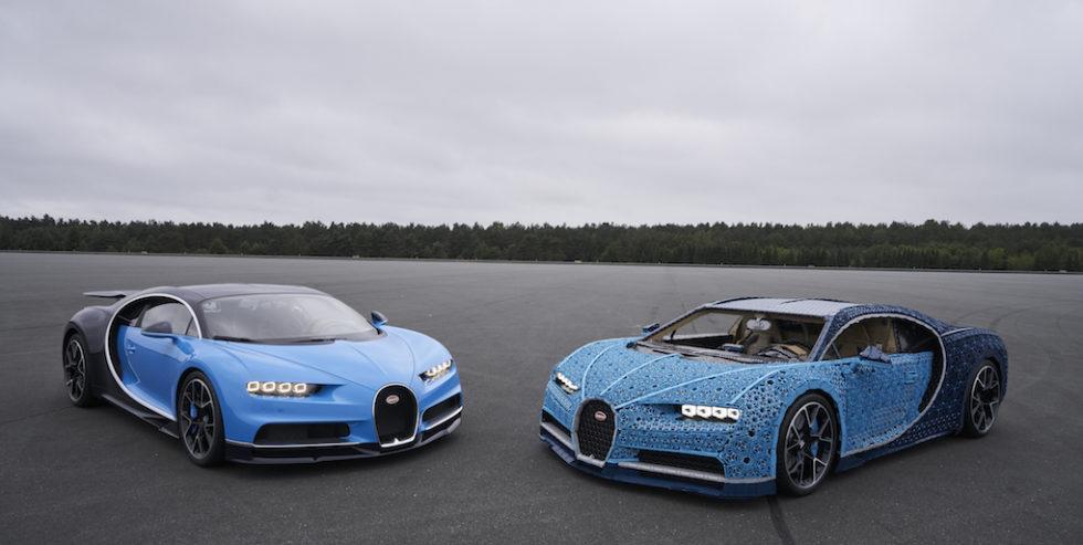 Eine Million Steine – Lego baut Bugatti in Originalgröße nach