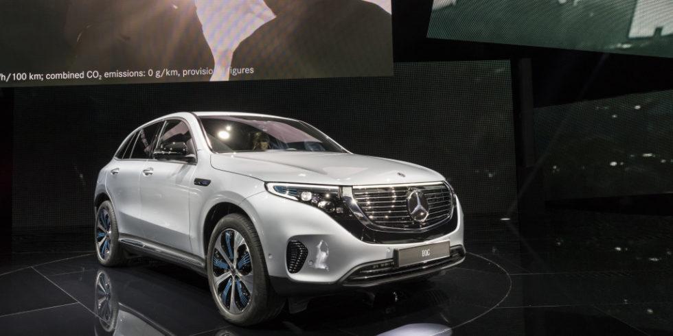 Der EQC von Mercedes Benz.