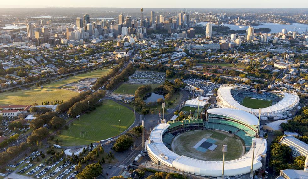 Moore-Park mit den beiden Stadien