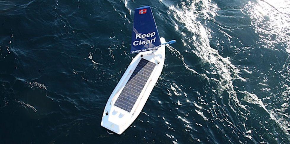 Extrem robust: 80 Tage hat der Sailbuoy auf dem rauen Nordatlantik überstanden. Dabei ist das Segelbötchen nur zwei Meter lang und 60 Kilo schwer.