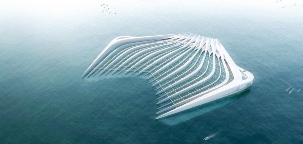 Ein Aachener Verein will mit solch einem System Müll aus dem Meer einsammeln.