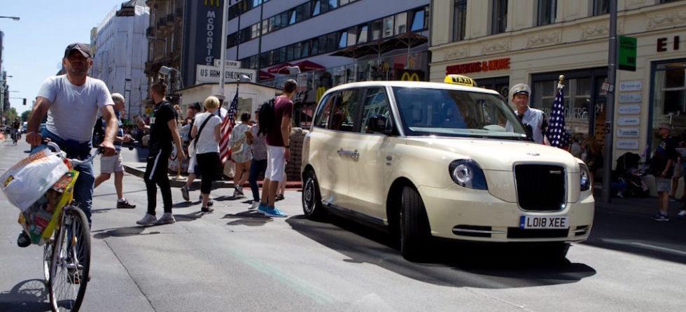 Auf deutschen Straßen sollen jetzt Londoner Elektro-Taxis fahren