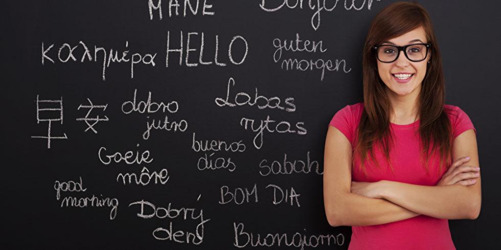 Sie sprechen mehrere Sprachen? Gehen Sie in einer Bewerbung nicht zu bescheiden damit um. Foto: panthermedia.net/gpointstudio