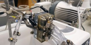 Foto der Aluminium-Luf-Batterie