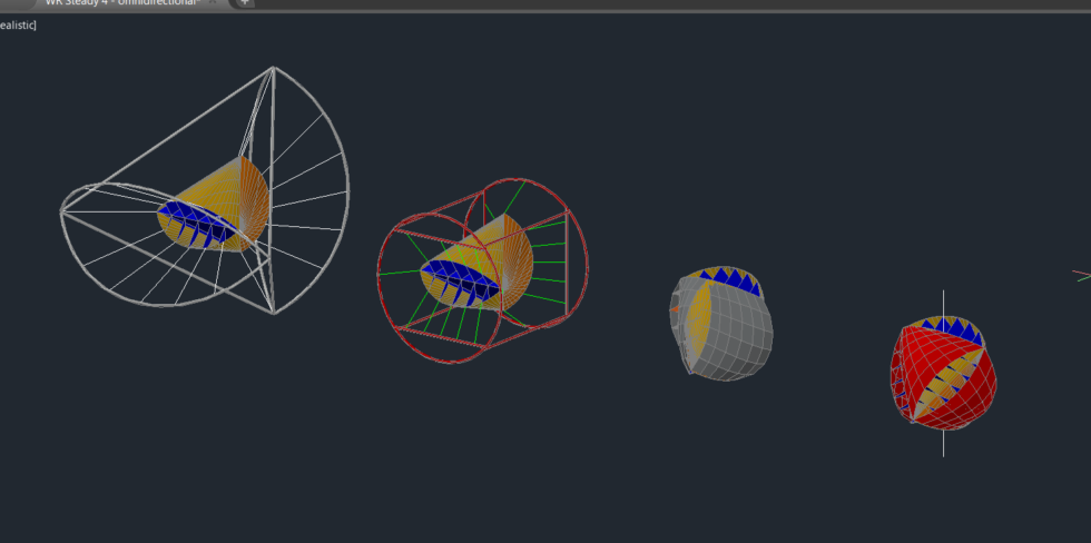 Screenshot der Entwicklung