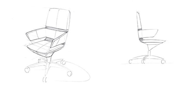 Illustration SenseA-Chair