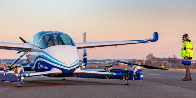 Boeing lässt erstes autonomes Flugtaxi abheben