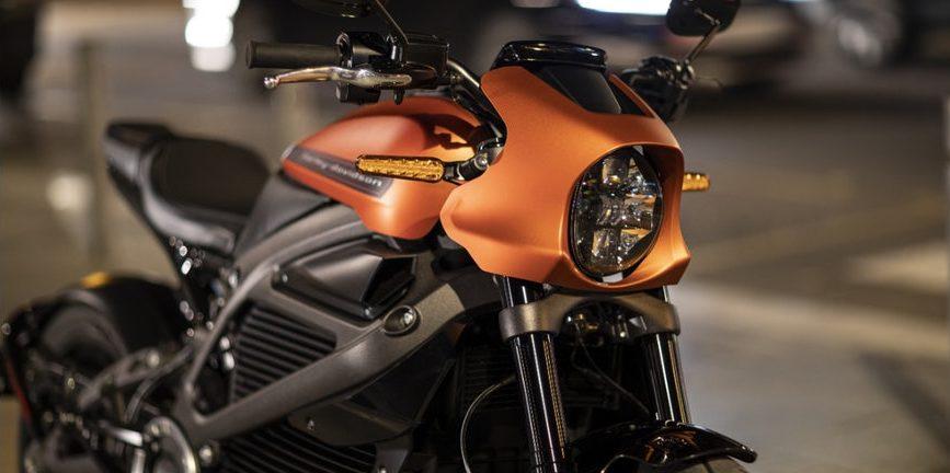 """Elektromotorrad """"LiveWire"""" von Harley-Davidson"""