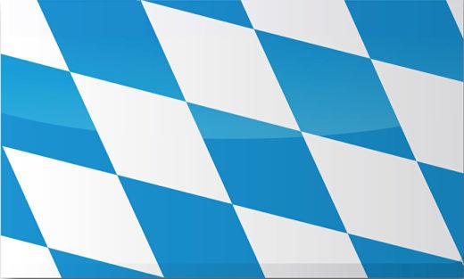 Länderflagge Bayern