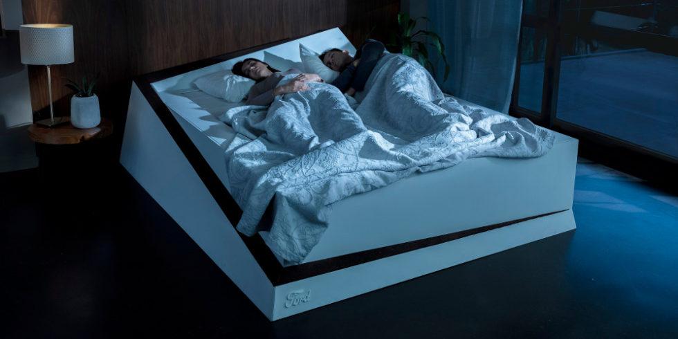 Abbildung des Spurhalte-Betts