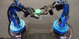 Roboter lokalisieren Gegenstände über RFID-Tags