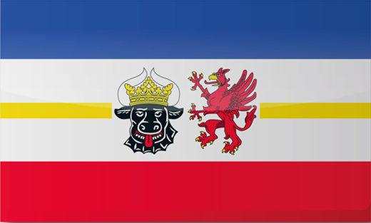 Länderflagge Mecklenburg-Vorpommern