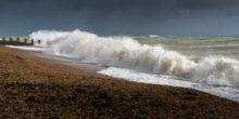 Küste vor Großbritannien