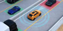 Illustration zum Thema autonomes Fahren