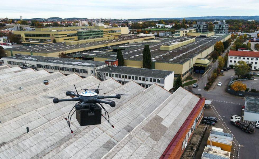 Drohnen ersetzen Transporte auf dem Boden