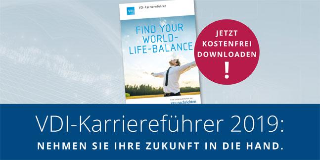 VDI-Karrierefuehrer 2019 - jetzt kostenfrei downloaden!