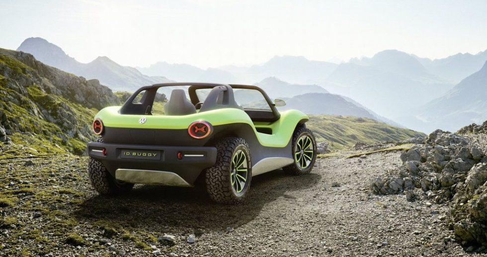 Volkswagen ID. BUGGY in grün