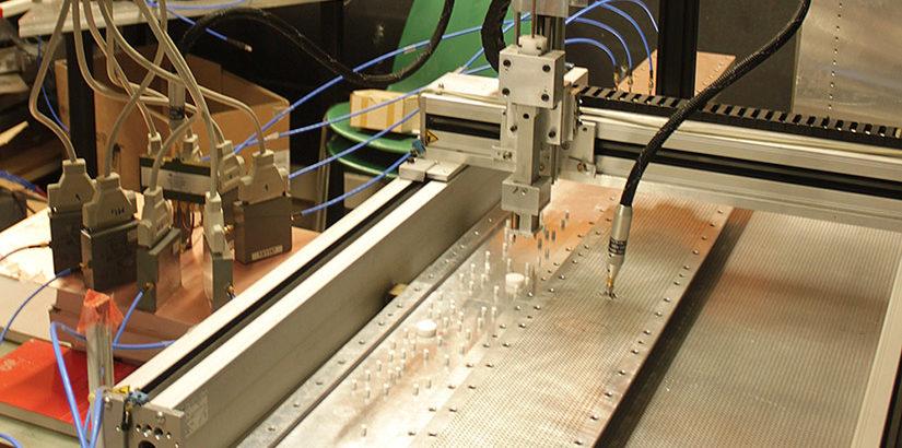 Experimenteller Aufbau des Anti-Lasers