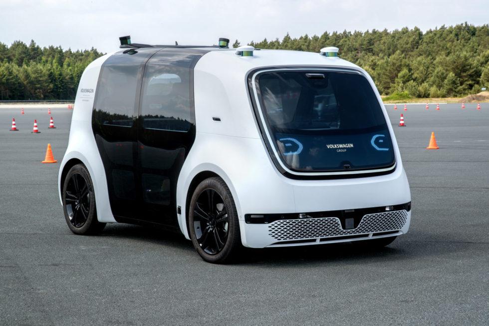 Der VW Sedric gehört zu den Robotaxis der nächsten Generation. Foto: VW AG