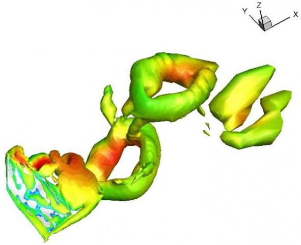 Das Computermodell zeigt die Beweglichkeit der Fledermausflügel.<br />Foto: University of British Columbia