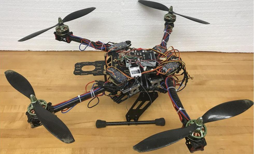 Prototyp der neuen Drohne