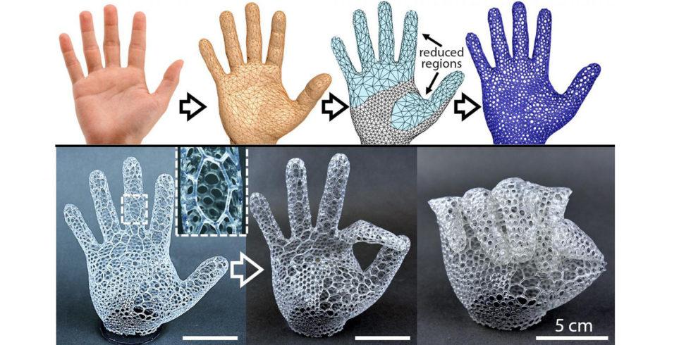 3D-Druck einer Hand