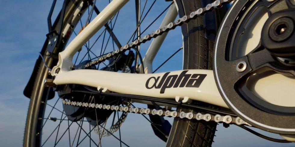 Kette des Wasserstoff-Bike Alpha