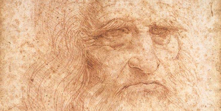 Vermutliches Selbstporträt von Leonardo da Vinci. Foto:  Public Domain