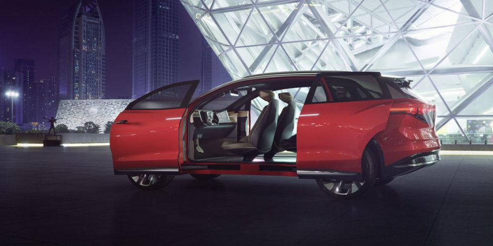 Groß, aber ohne Emissionen – neue Elektroautos für China