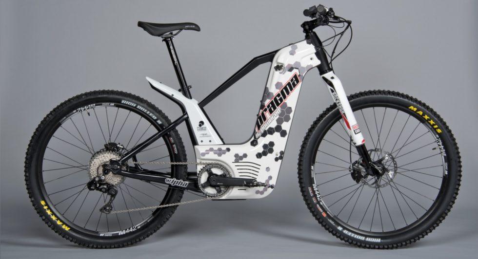 Wasserstoff-Bike Alpha mit Camouflage