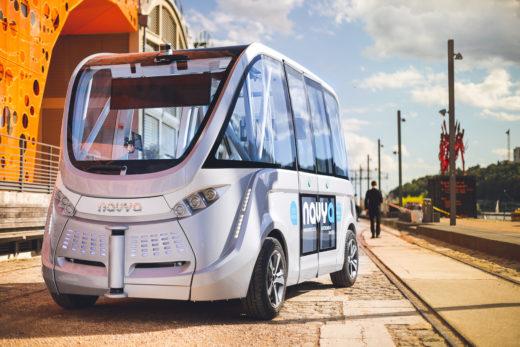 Der autonome Shuttle-Bus von Navya. Foto: Navya