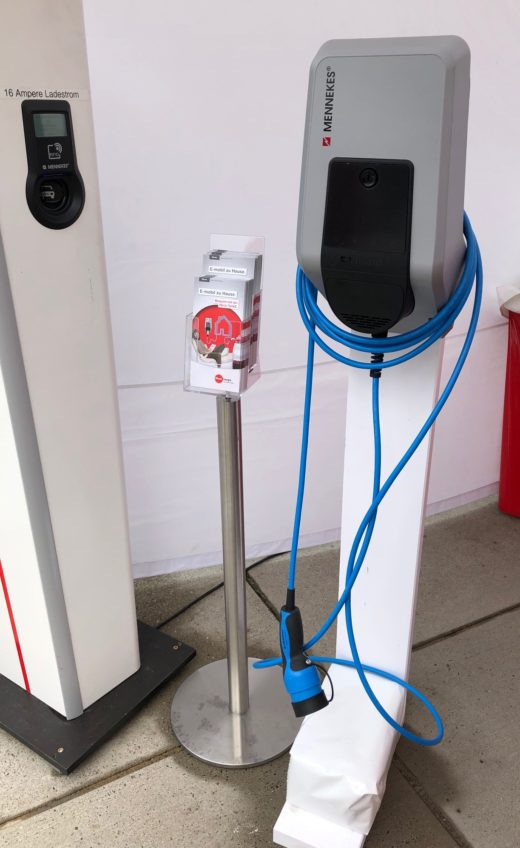 Ladestation für E-Autos<br />Foto: Sarah Janczura