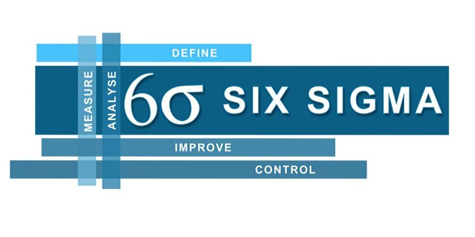 Six Sigma Schriftzug